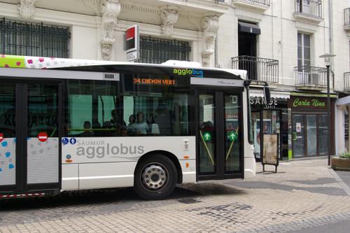 バスの行き先表示