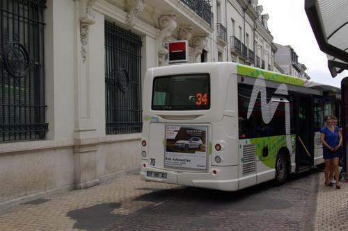 34系統のセントレ・ヴィレバス停