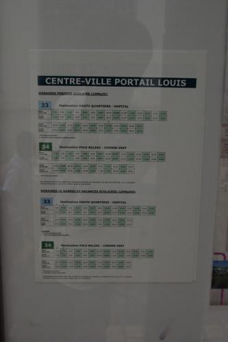 バスの時刻表2013/06/08